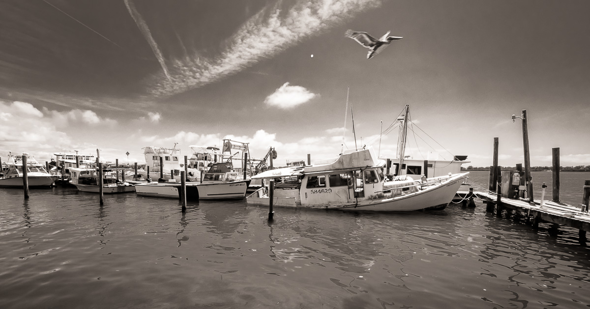 Cortez Fishing Village, a Bit of Old Florida