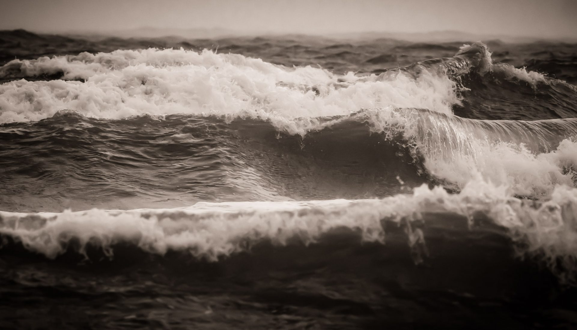 Beauty in an Angry Sea