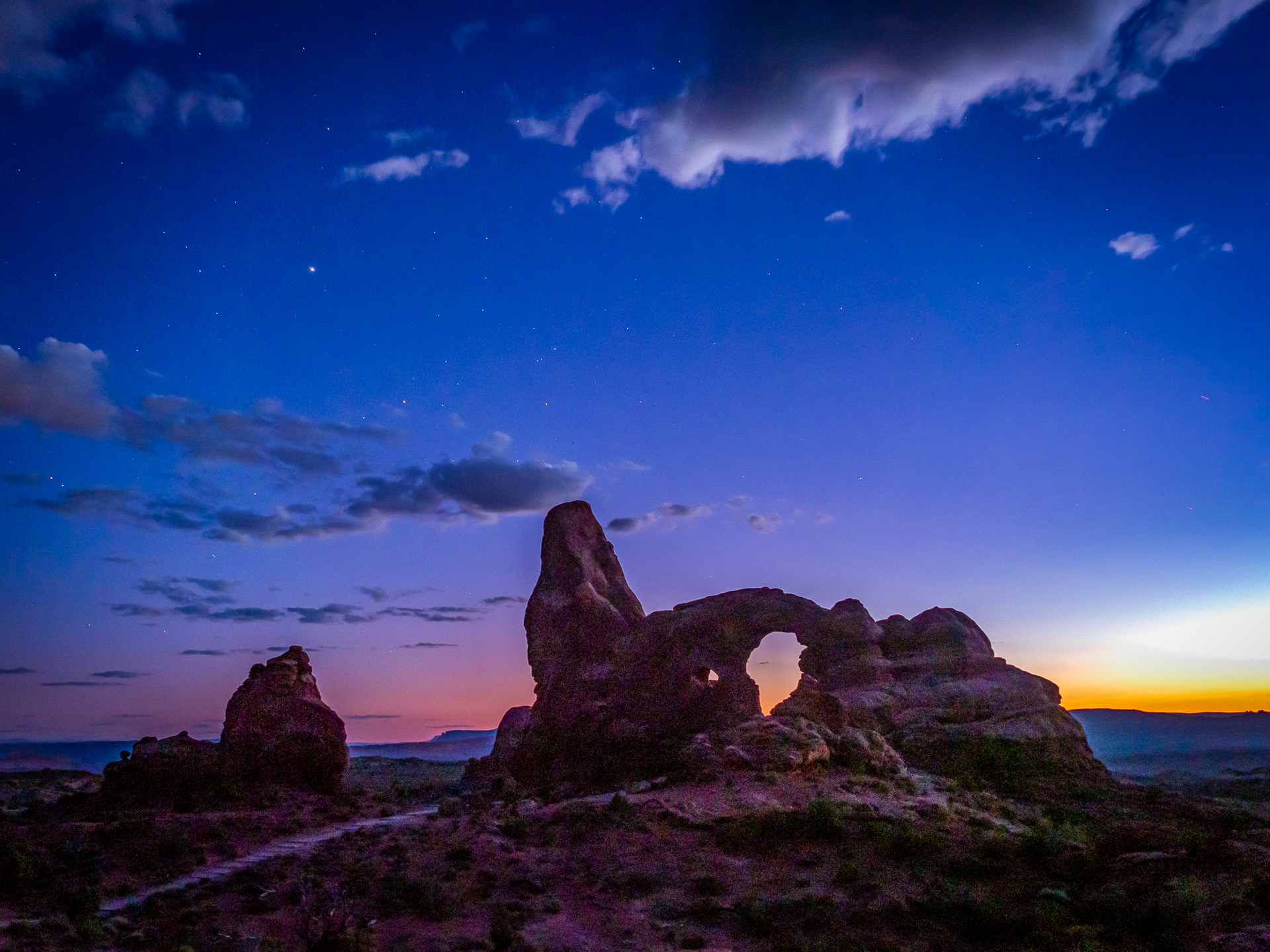 Turret Arch, Arches NP, Utah