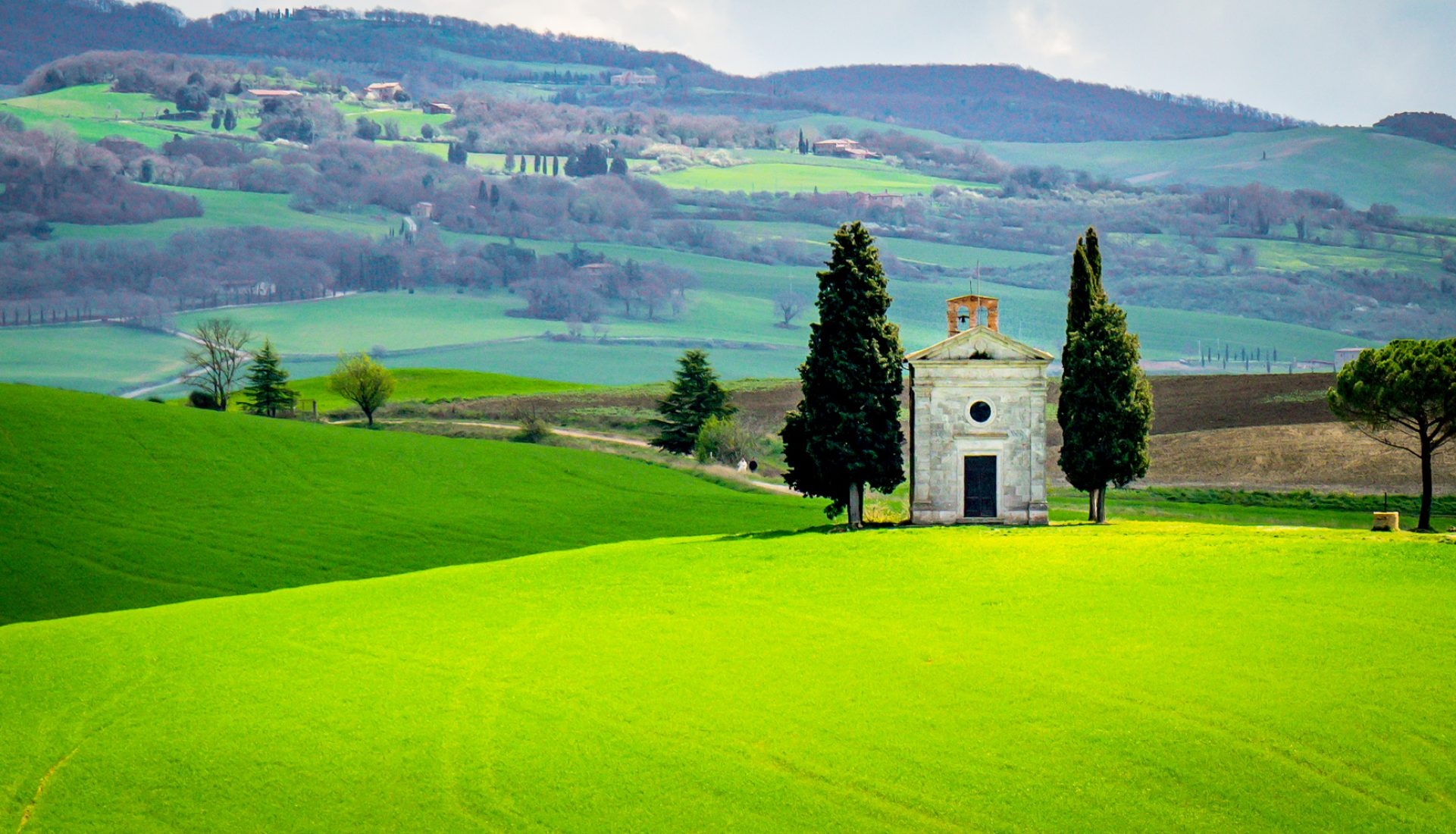 The Chapel of the Madonna di Vitaleta – Tuscany