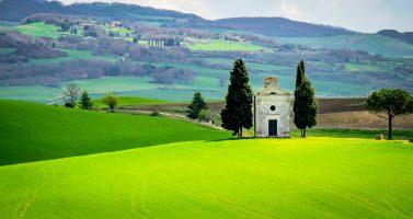 The Chapel of the Madonna di Vitaleta – Tuscany