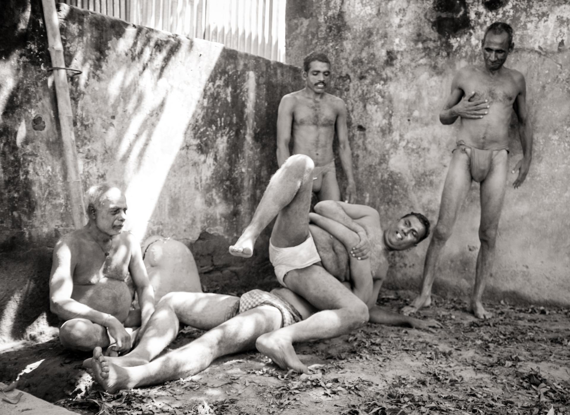 Traditional Kusti Wrestlers - Kolkata, India