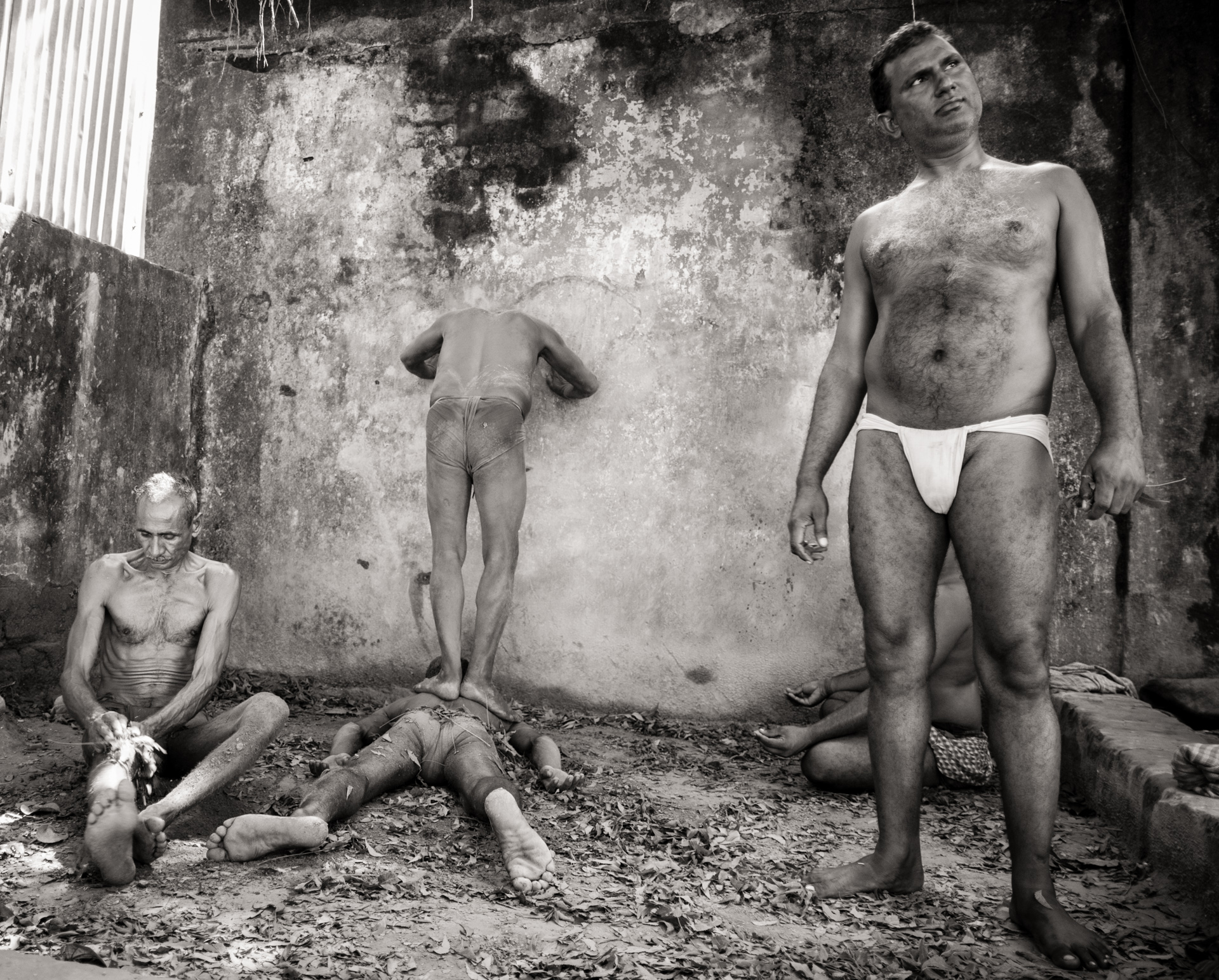Kusti Wrestlers - Kolkata, India