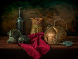 The Old Tea Kettle | a Still Life