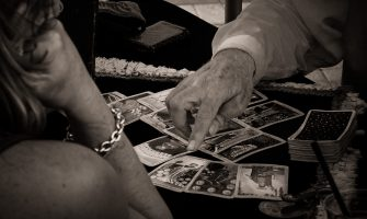 Fortune Teller Reading Tarot Cards | Key West, Florida | Monochrome Monday