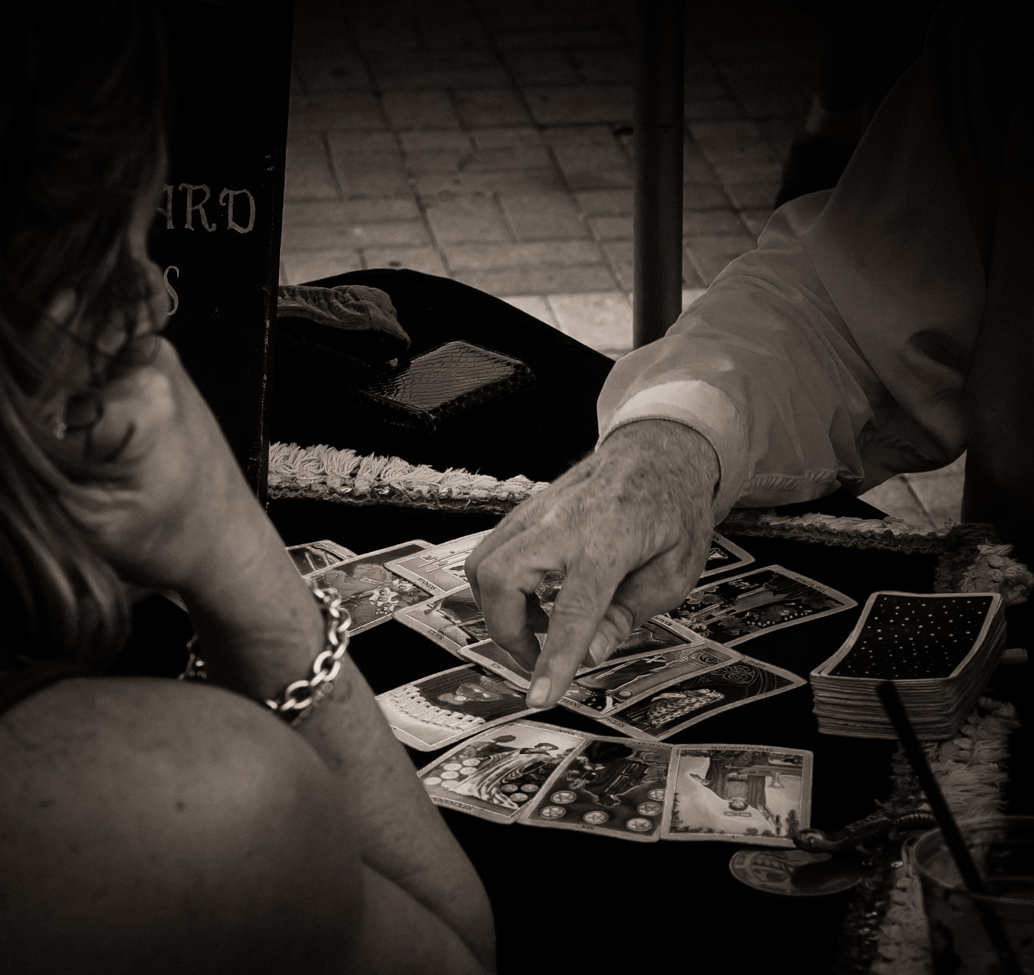 Fortune Teller Reading Tarot Cards - Key West, Florida