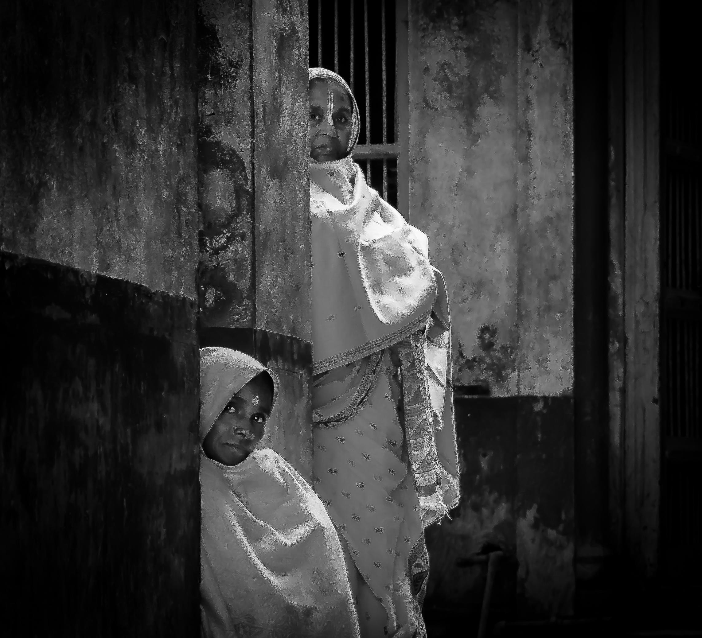 Vrindavan, India | Monochrome Monday
