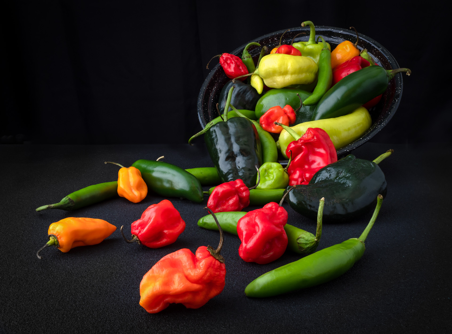 A Cornucopia of Chili Peppers