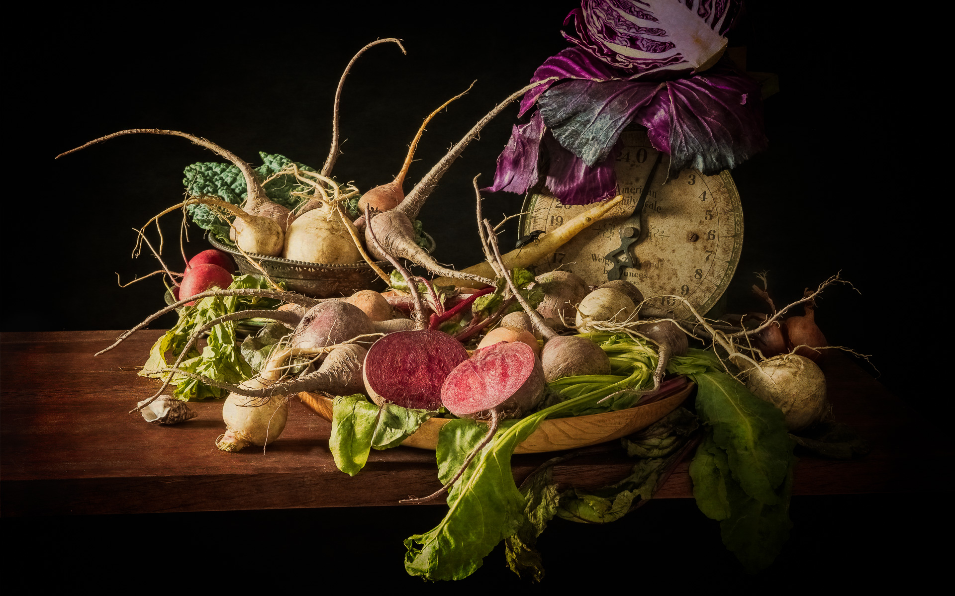 """""""Root Vegetables and Cabbage"""" 