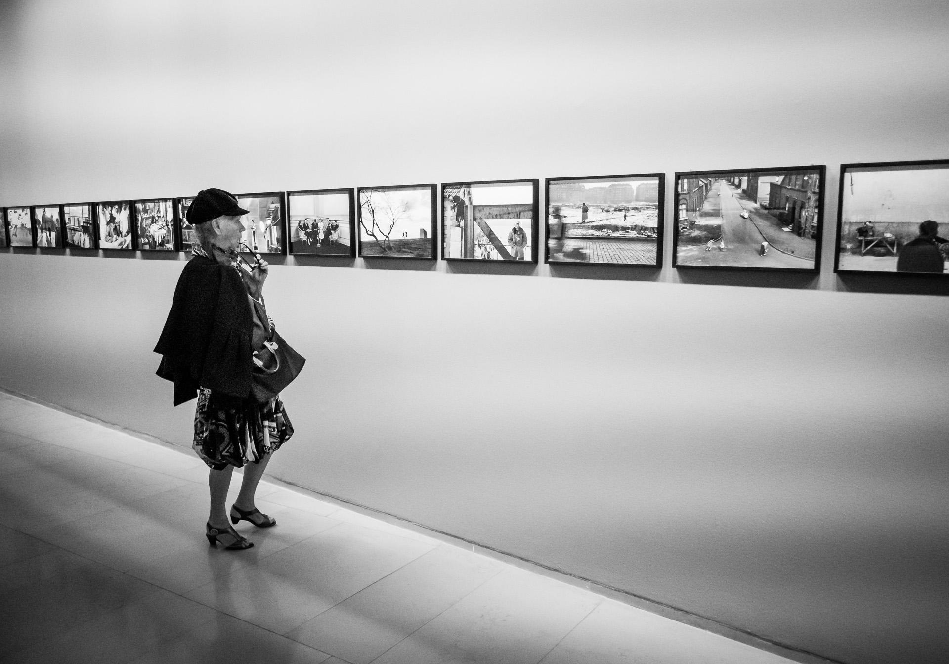 At the Museum - Paris