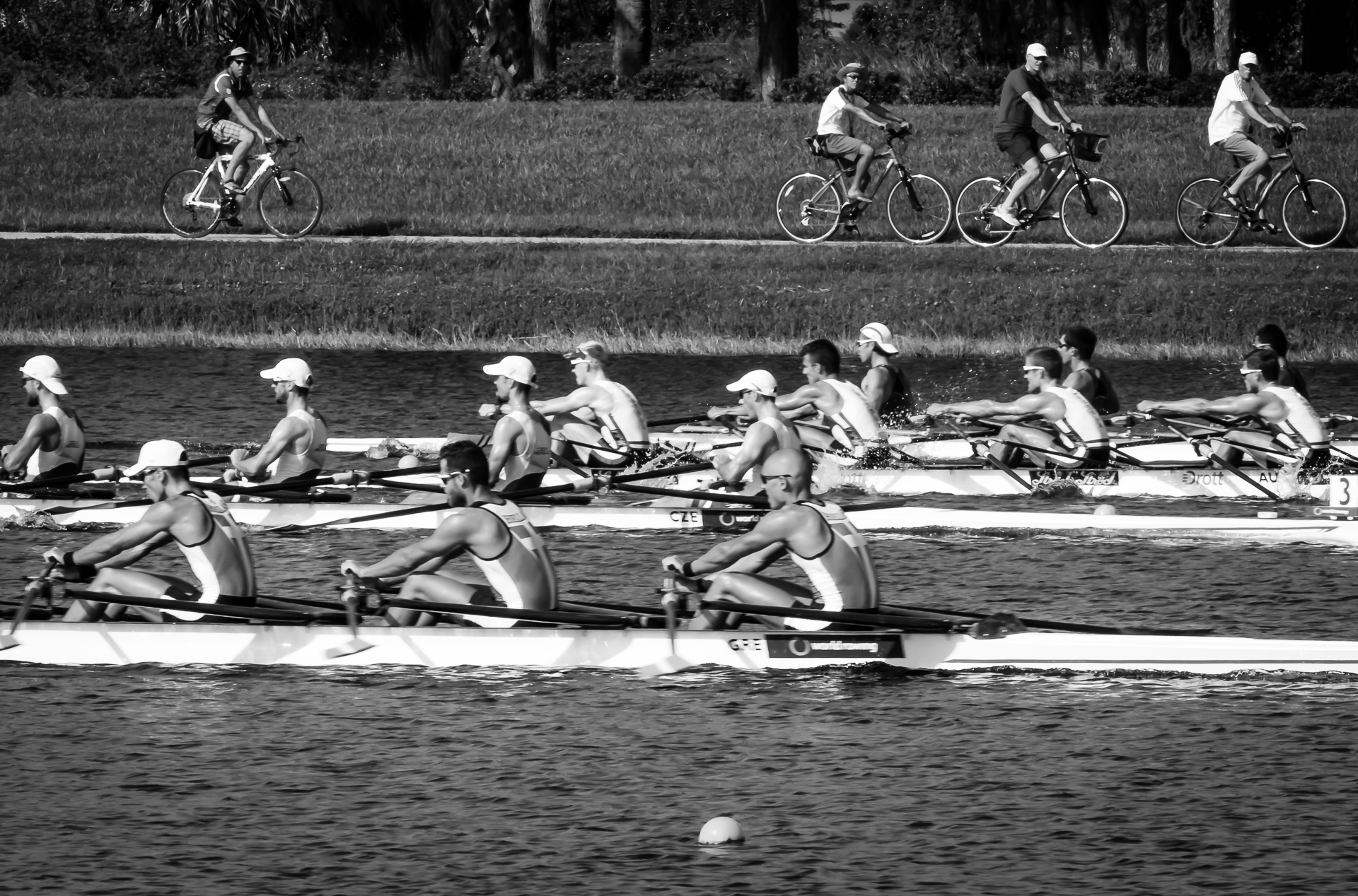 Rowers and Bikers