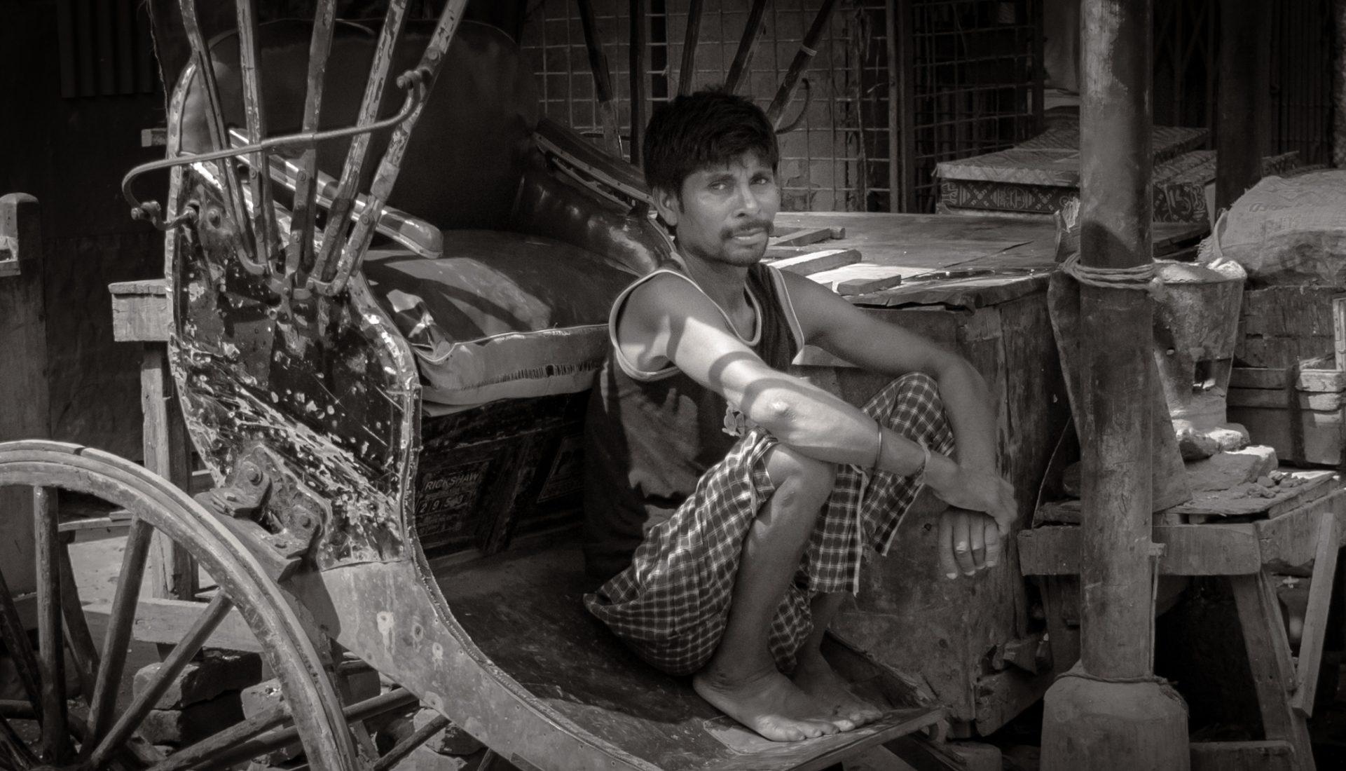 Rickshaw Puller – Calcutta, India | Redux