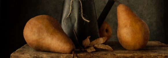 Three Pears and a Pitcher