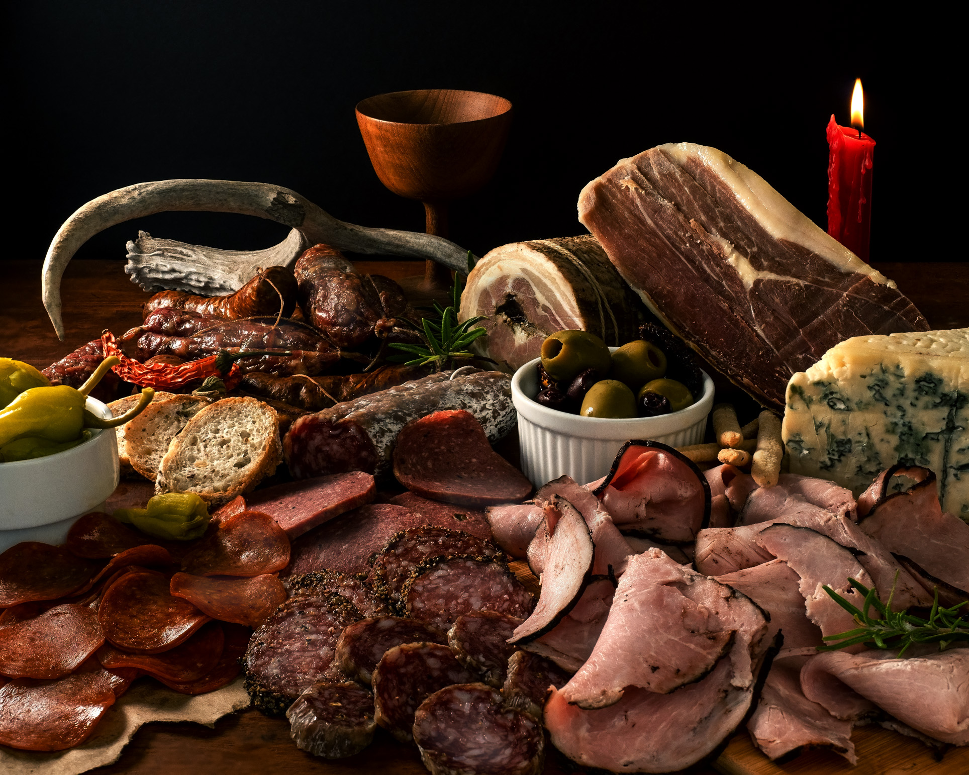 Charcuterie with Meats