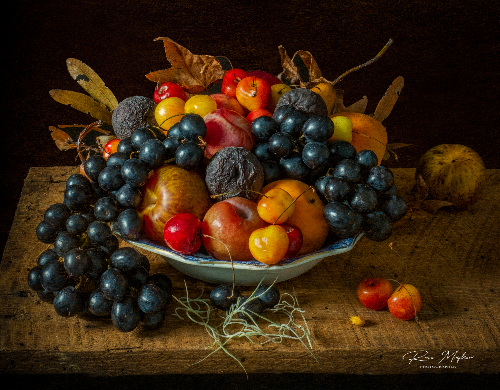 Natures Abundance, an Abundance of Fruit - a Still Life